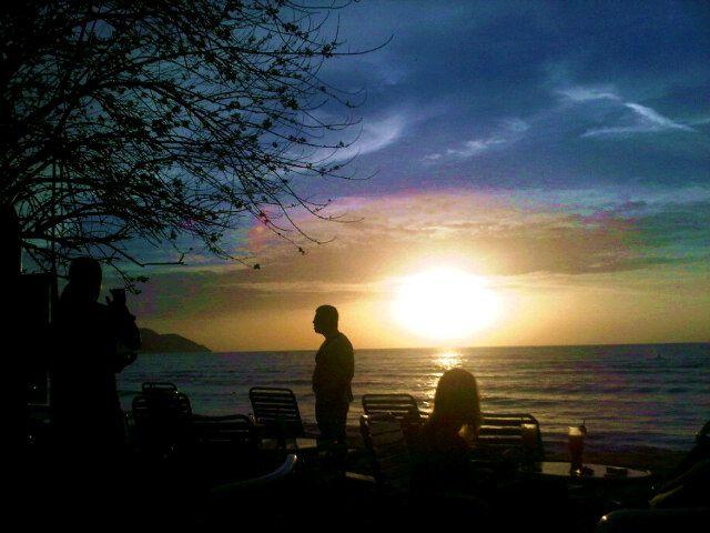 Bora Bora by Sunset