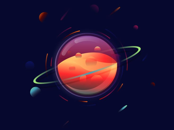 Magic planet by Julien #Design Popular #Dribbble #shots
