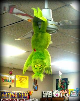 my alternative to Elf on the Shelf....How the Grinch Stole Christmas...writer's notebook fun