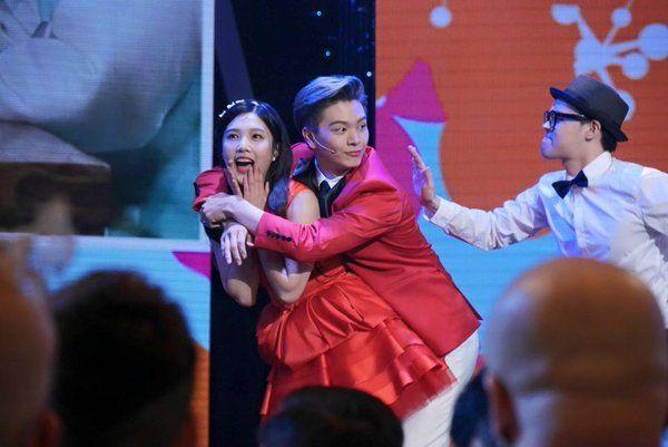 151229 MBC Entertainment Awards : JOY & Sungjae