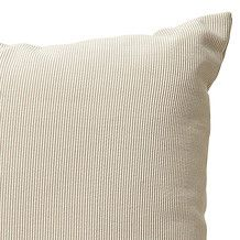 Plain Rib Cushion 43 x 43cm - Oatmeal