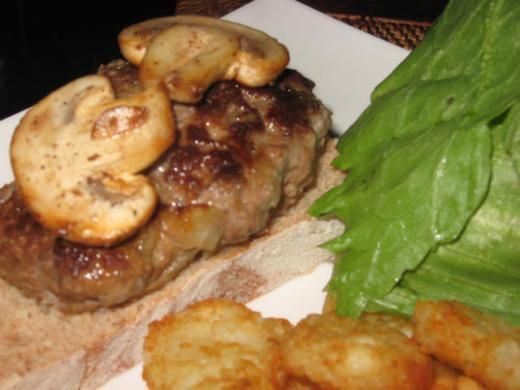 Burgers and Recipe on Pinterest