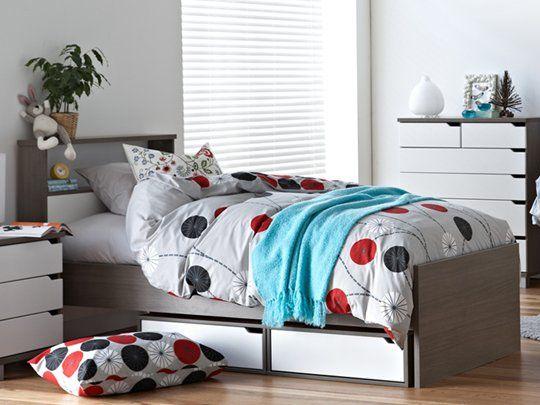 The 25 best White single bed frame ideas on Pinterest White