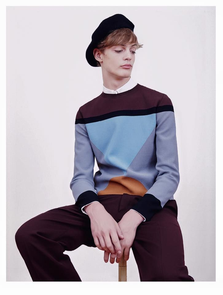 THE GREATEST #8 THE HERO ISSUE  PHOTO ALESSANDRO DAL BUONI FASHION EDITOR MATTEO GRECO   MODEL- CHARLIE JAMES - 2morrow model GROOMING GIULIA CIGARINI  In total look Valentino and hat Gucci