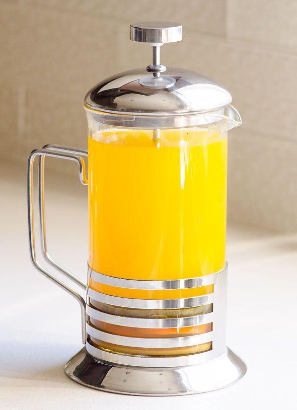 Anti-Inflammatory Tea - Healing tea with turmeric, ginger, apple cider vinegar and raw honey.