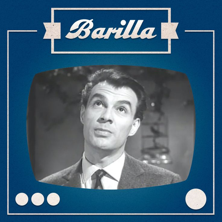 """1959: Giorgio Albertazzi recita """"Ricordo di Maria"""" di Bertold Brecht per #barilla"""