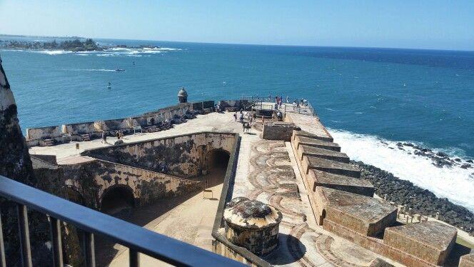At Castillo Pelipe del Morro