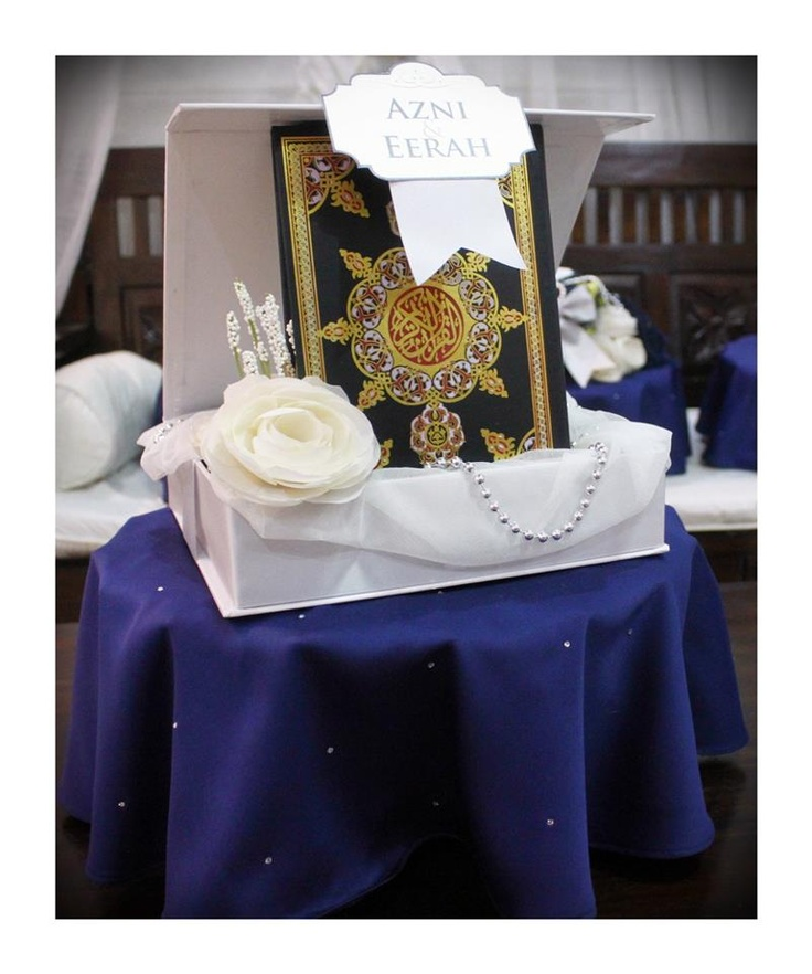 Silver & Navy Blue gift tray