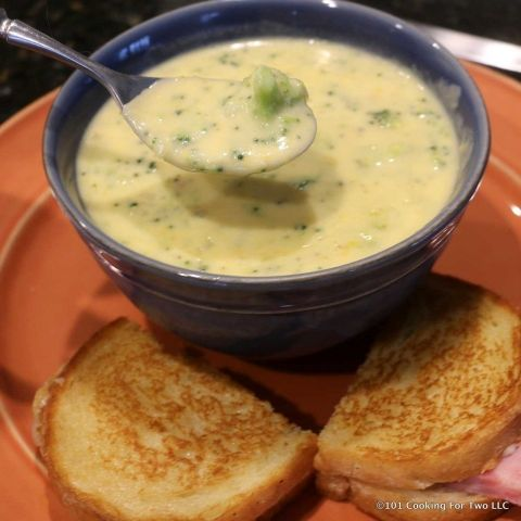Easy One Pot Broccoli Cheese Soup From 101 Cooking for Two