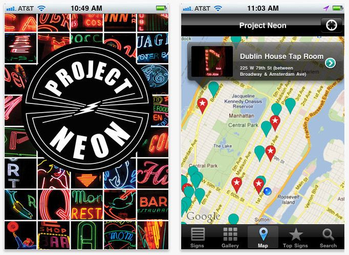 Project Neon: A crowdsourced project to map the very best neon signs in NYC. Good inspiration for Pinterest! (@Evan Sharp): Favorite Places, Empire States, York Cities, Neon Signs, Places I D, Nyc Things, York States, Crowdsourc Projects, Projects Neon