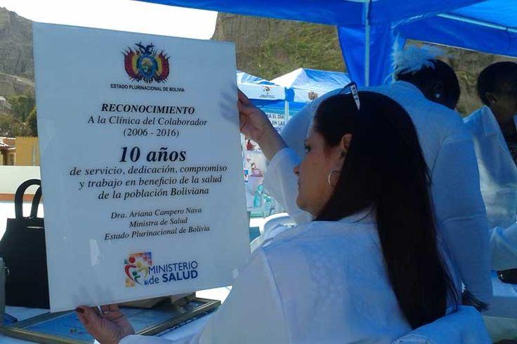 #Cubanos celebran en Bolivia aniversario de la Clínica del Colaborador - Prensa Latina: Cubanos celebran en Bolivia aniversario de la…