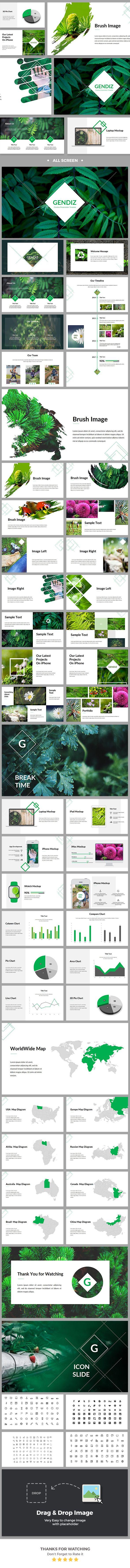 Gendiz - Powerpoint Template  - No site #ThemeForest encontra os melhores #Templates & #Plugins para #Wordpress. Confira em http://www.estrategiadigital.pt/themeforest-templates-wordpress/