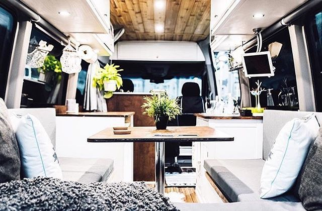 Hot damn! Check out this #sprintercampervan conversion... 〰〰〰〰〰〰〰〰  Van: @sprint2explore  Photo: @name_jeff 〰〰〰〰〰〰〰〰