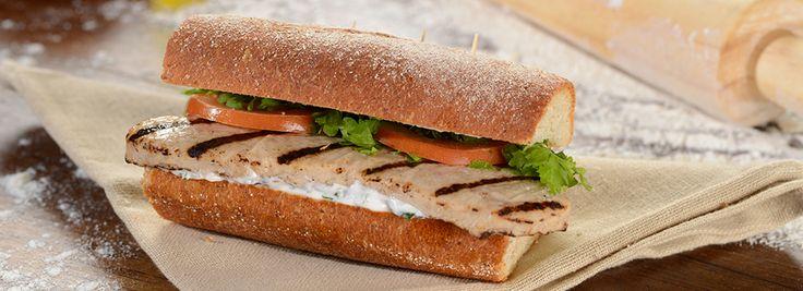 Sándwich caprese de pollo