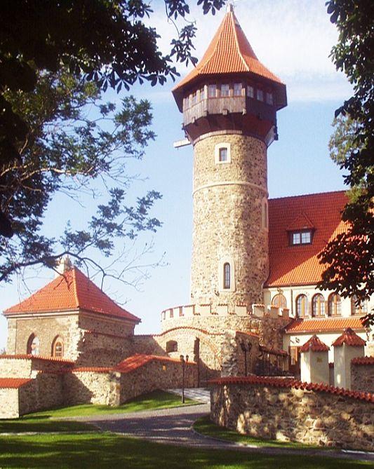 Hněvín castle (North-West Bohemia), Czechia