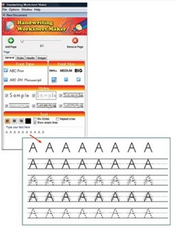 Printables Kindergarten Handwriting Worksheet Maker 1000 images about handwriting worksheet maker on pinterest with this program all you have to do is type a letter or word and will see the magic unfold incredib
