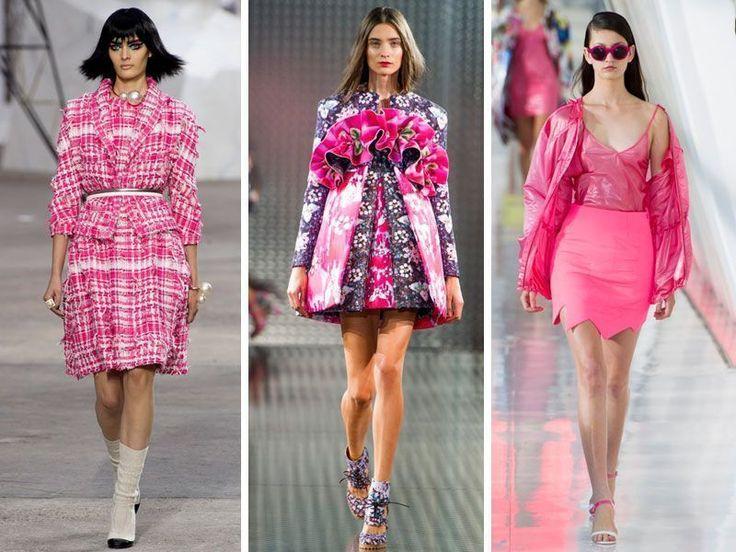 IL COLORE DELL'ANNO...Stilisti e passerelle non hanno dubbi: il 2014 si tingerà di rosa. Questo tono colorerà abiti, giacche, borse e scarpe.