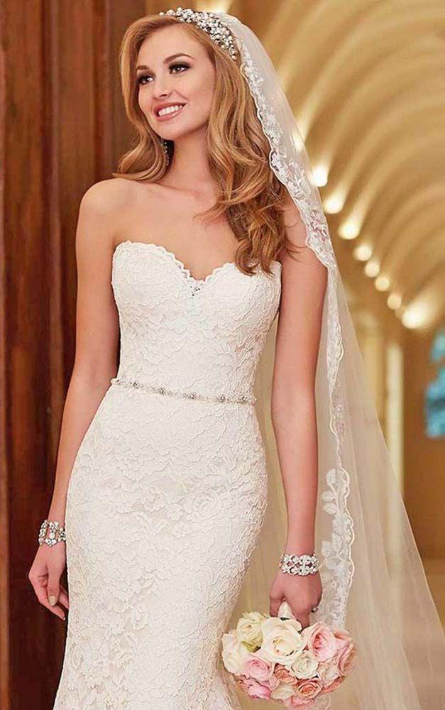 Pleasant 1000 Ideas About Wedding Hairstyles Veil On Pinterest Wedding Short Hairstyles Gunalazisus