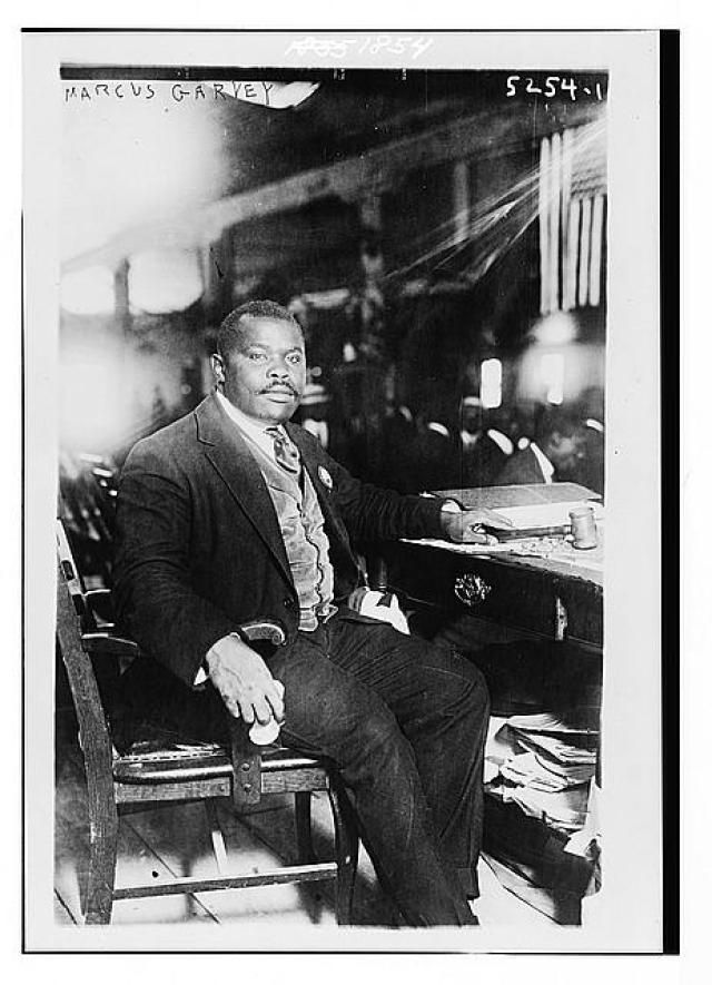 Learn About the Life of Marcus Garvey: Marcus Garvey in 1924