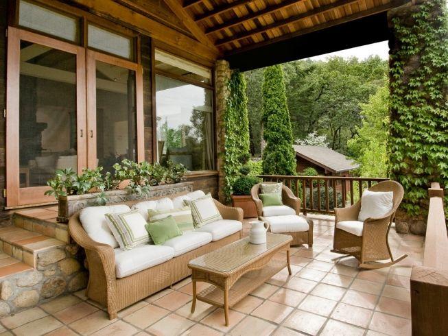 Дизайн и интерьер дачного домика и участка
