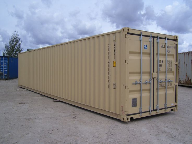 Storage Containers Used As Homes