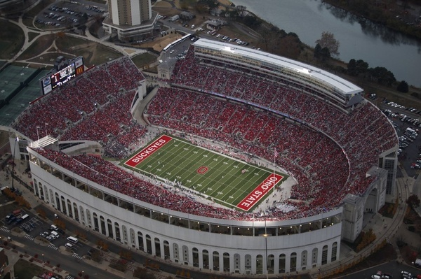 """""""The Shoe"""" on THE Ohio State Universities campus. O-H.....I-O."""
