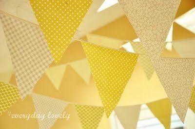 yellow bunting