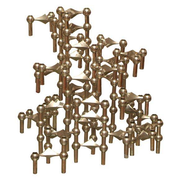 Nagel candelstick holders