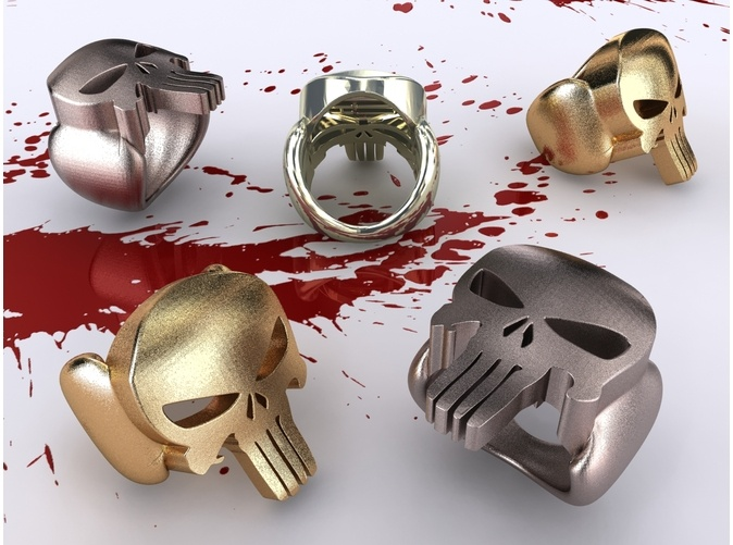 The Punisher Ring by henriquelana