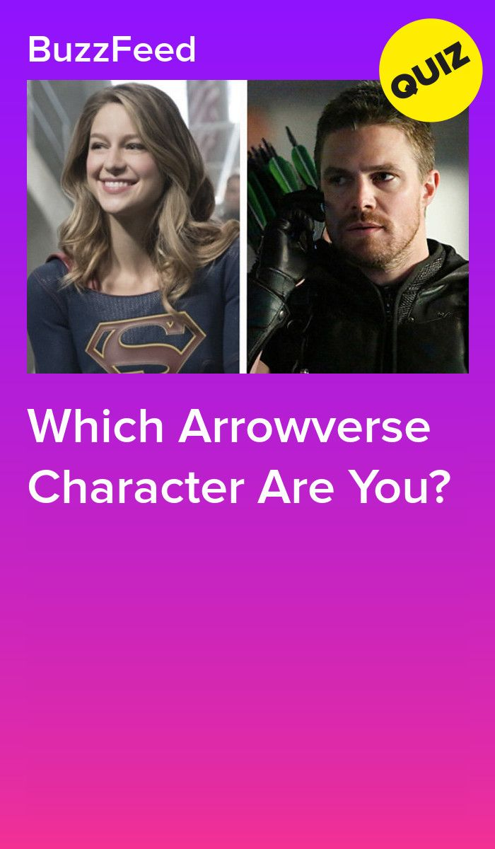 Which Arrowverse Character Are You Flash Characters The Flash