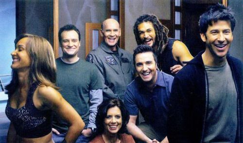 Shooting Stargate: Atlantis.  Man they just seem like fun people to know!