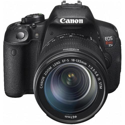 EOS Digital Rebel T5i with EF-S 18-135mm IS STM Lens - Black - Digital Cameras