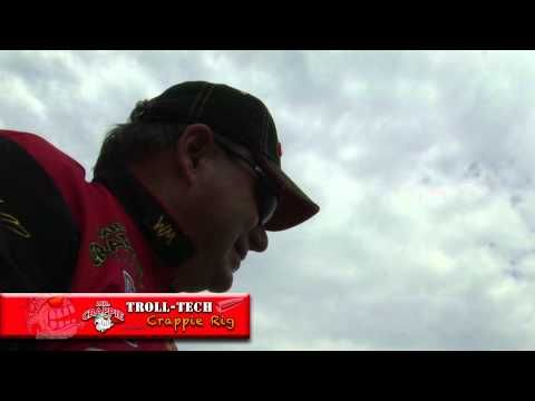 Mr. Crappie Troll Tech Crappie Rig - YouTube