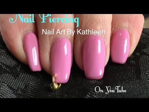 How To Pierce Your Nail Born Pretty Nail Piercing Tool