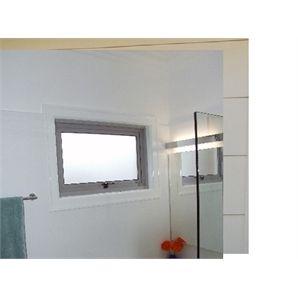Polar Eco-View 600 x 945mm Silver Grey Openable Double Glazed Window
