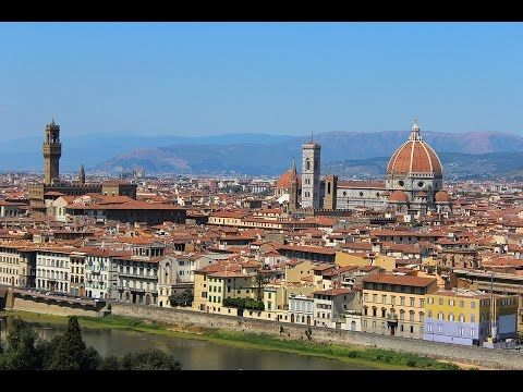 Places to see in ( Florence - Italy )  Florence capital of Italys Tuscany region is home to many masterpieces of Renaissance art and architecture. One of its most iconic sights is the Duomo a cathedral with a terracotta-tiled dome engineered by Brunelleschi and a bell tower by Giotto. The Galleria dell'Accademia displays Michelangelos David sculpture. The Uffizi Gallery exhibits Botticellis The Birth of Venus and da Vincis Annunciation.  Florence is the capital city of the Italian region of…