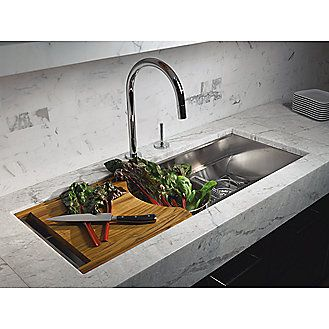 Mick De Giulio's Multiere 45 sink for Kallista
