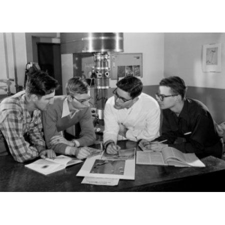 Students of Stevens Institute of Technology Hoboken New Jersey USA Canvas Art - (24 x 36)