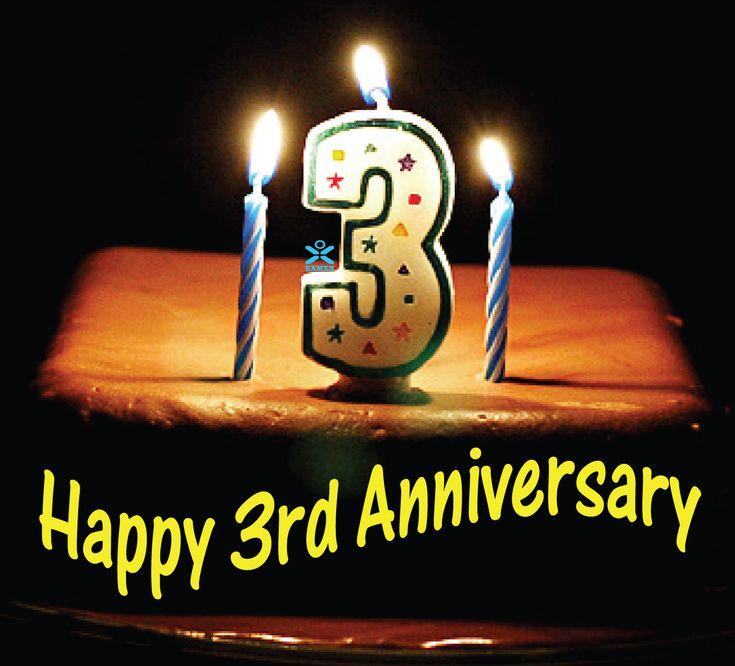 happy anniversary images My Secret Sanctuary: Happy 3rd Anniversary ...