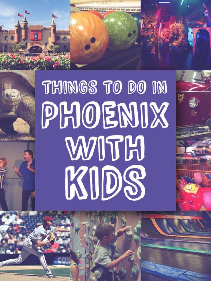 Things To Do In Phoenix With Kids. Great resource for parents living in AZ!