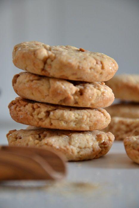la mamma pasticciona: biscotti rustici al burro di arachidi