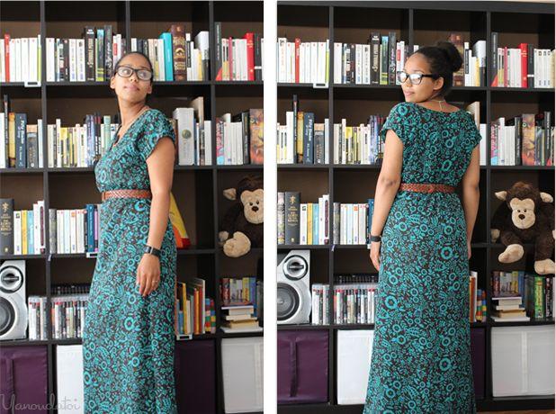 Passion.Couture.Made in france: Robe facile à faire, C'est juste 4 rectangles - https://fr.pinterest.com/bettinael/happy-diy-couture/