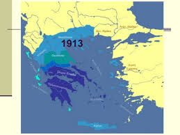 Το 1912-1913 προστέθηκαν η Ήπειρος, η κεντρική Μακεδονία,τα νησιά του Αιγαίου και η Κρήτη.