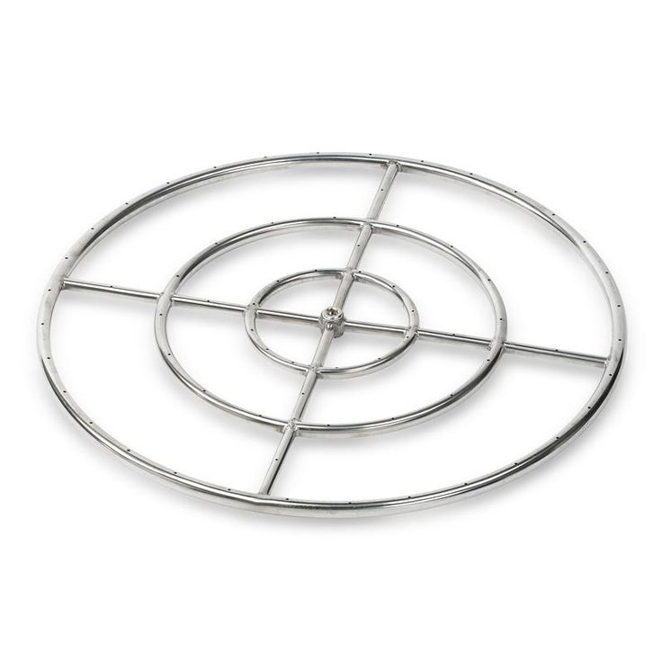 """30"""" Stainless Steel Fire Ring"""