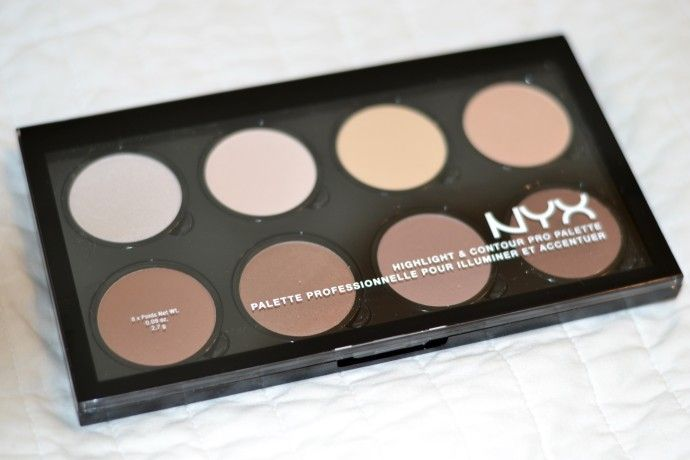 NYX - the best cheap contouring face palette on the market //JennySueMakeup.com