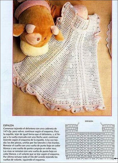 Vestido de croche - CROCHE COM RECEITAS