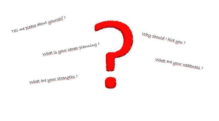 Entretien d'embauche - les 4 questions préférées de recruteurs :)