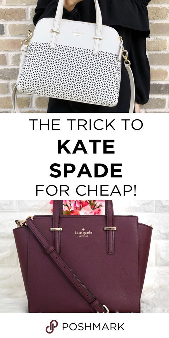 9e38fd0cea1a Find authentic Kate Spade bags up to 70% off! Download the Poshmark app to  shop and save!