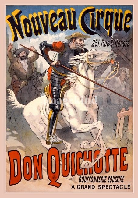 "Don Quichotte / ""Nouveau+Cirque""+by+Gary+Grayson"