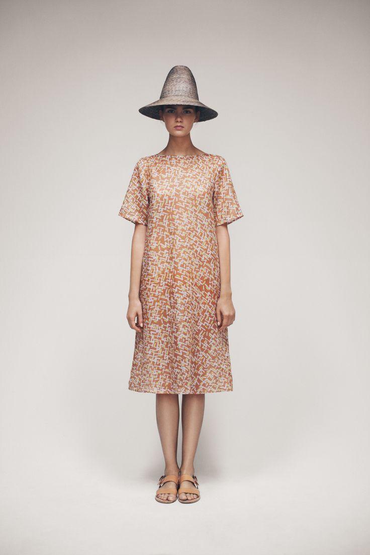 Bell Hat and Acta Dress   Samuji SS15 Seasonal Collection